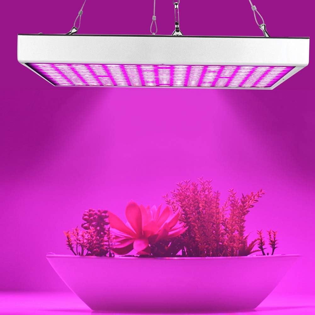 Luce a LED per Piante in Crescita Completa per Lampada a Pannelli in Crescita AC85-265V 45W EU Plug Riuty Lampada per Piante luci per Piante LED per Piante