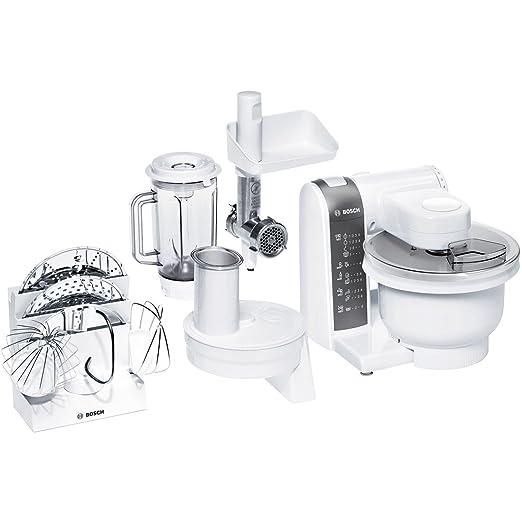 Bosch MUM4855 - Robot de cocina (3,9 L, Blanco, 1,2 m, De plástico ...