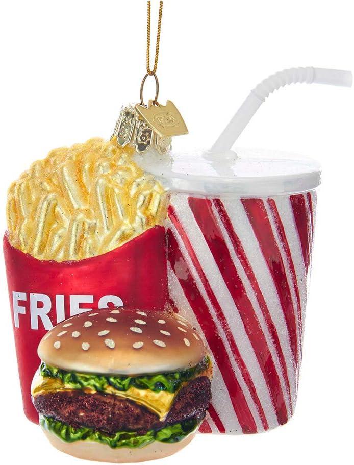 Kurt Adler 3.5In Noble Gems Fast Food Combo Ornament
