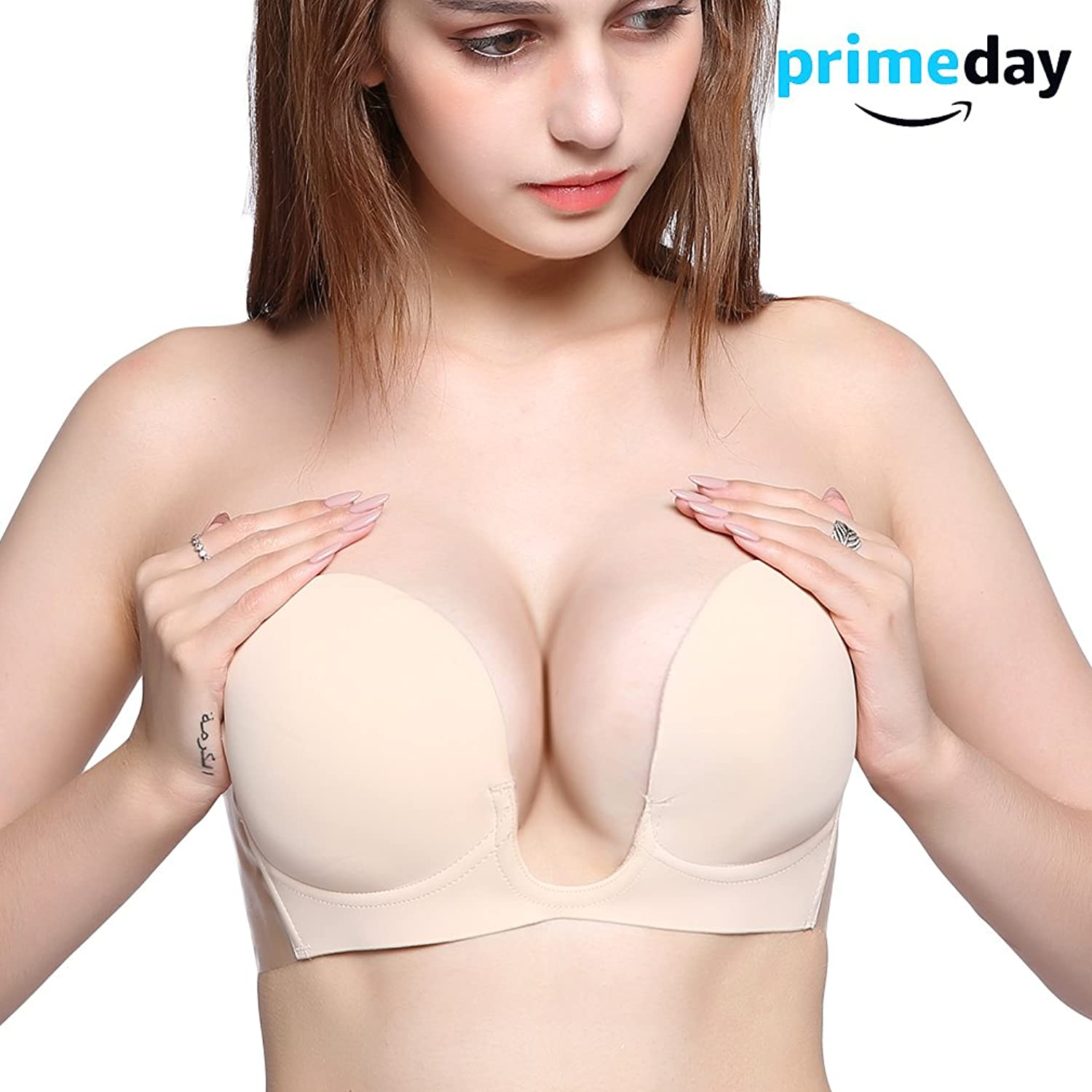 76460a422234e Comfortable and supportive stick-on strapless bra with smooth fabric  .Absolutely breathable silky and comfortable invisible bra gives an  backless strapless ...