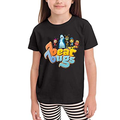Donmlier Boys&Girls T Shirt School Beat Bugs Design Kid Crew-Neck Short Sleeve T Shirts: Clothing