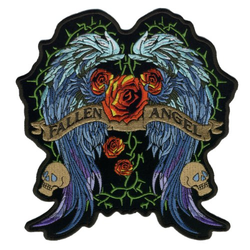 Hot Leathers Fallen Angel Stained Glass Ladies Patch (4