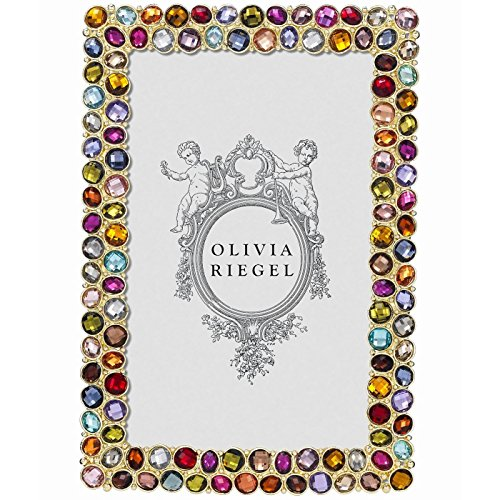 CARAVELLE Multi-Color 4x6 frame by Olivia Riegel - 4x6 by Olivia Riegel