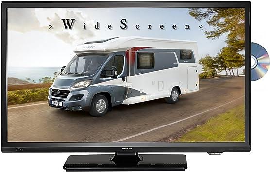 Reflexion lddw20 N LED HD TV 20 pulgadas TV DVB-S2/C/T2 DVD 12/24/230 V televisor camping caravana coche: Amazon.es: Electrónica