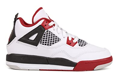 acheter en ligne 7a026 be23a Nike air Jordan 4 Retro PS - Age - Enfant, Couleur - Blanc ...