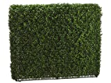 33''Hx8''Wx39''L Boxwood Hedge Two Tone Green