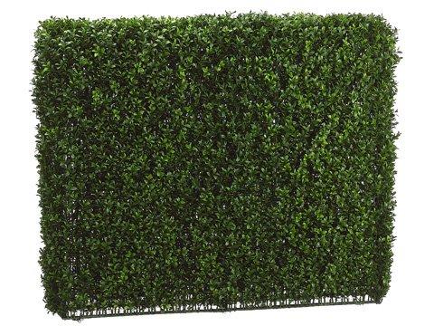 33''Hx8''Wx39''L Boxwood Hedge Two Tone Green by Arcadia Silk Plantation