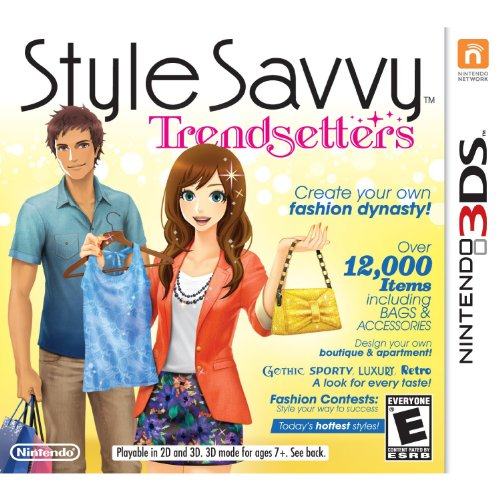Nintendo 3DS Style Savvy Trendsetters Game