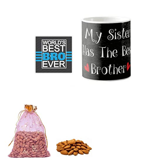 Yaya Cafe Birthday Dry Fruits Gift Combo For Brother My Sister Has