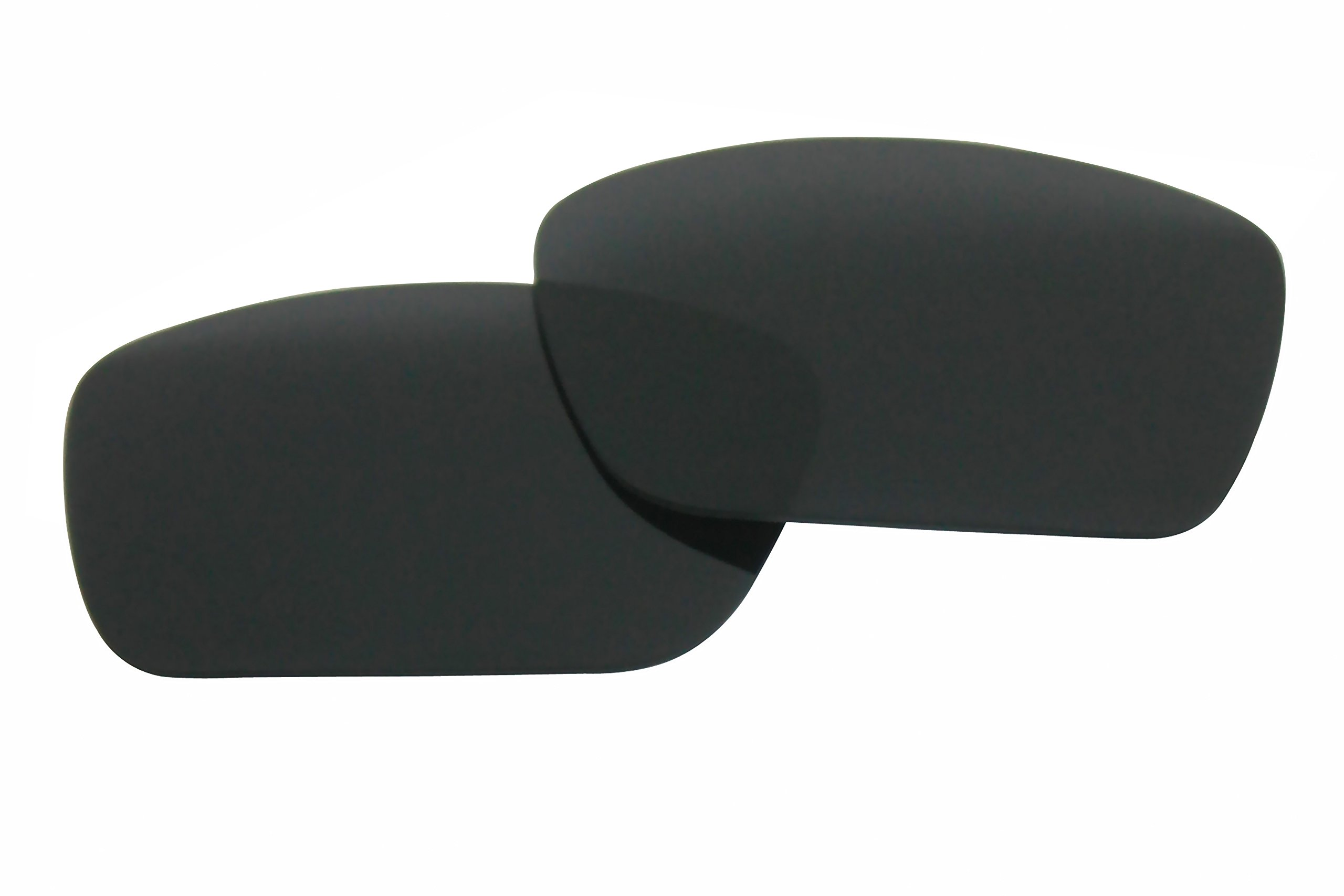 Polarized Replacement Sunglasses Lenses for Oakley Fuel Cell with UV Protection(Black) by C.D