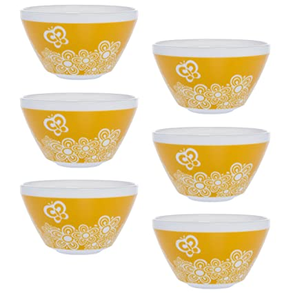 Amazon World Kitchen Set Of 40 Retro White Glass Soup Cereal New Rare Pyrex Patterns