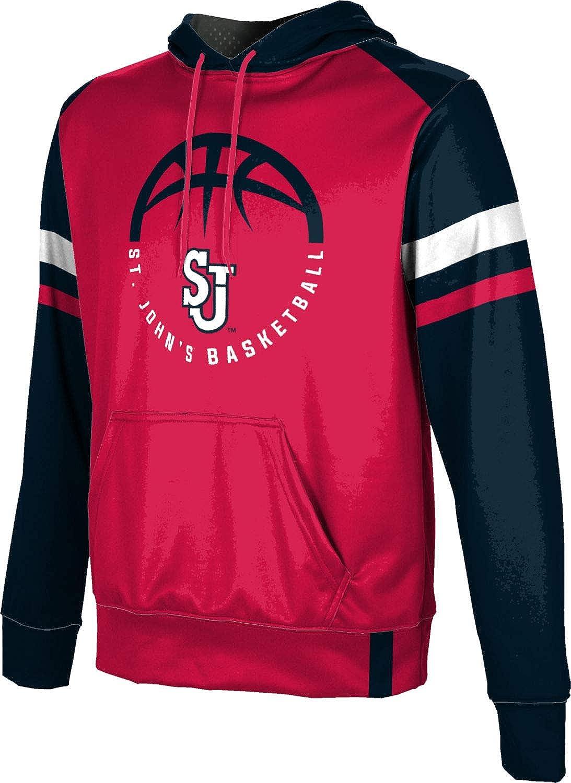 St School Spirit Sweatshirt Johns University Basketball Mens Pullover Hoodie Old School