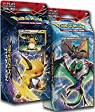 BOTH Pokemon XY8 BREAKthrough Theme Decks RAICHU & NOIVERN !! - TCG English