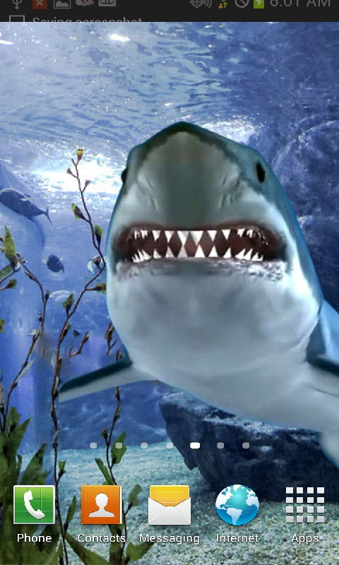 Amazoncom Touch The Shark Live Wallpaper Appstore For Android