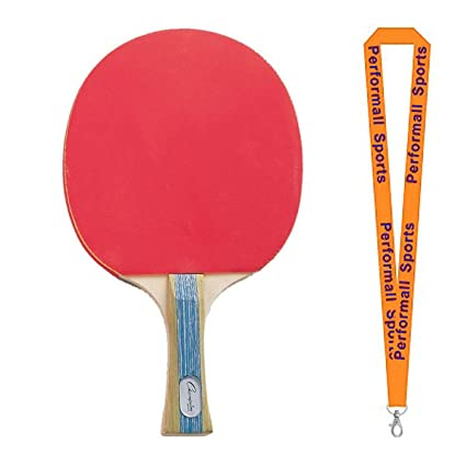 530e4669b Champion Sports Bundle  (Conjunto de 4) Tenis de Mesa Paddle Rojo y Negro