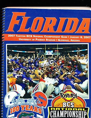 2007 BCS National Championship Football guide University of Florida (2007 Championship Basketball)
