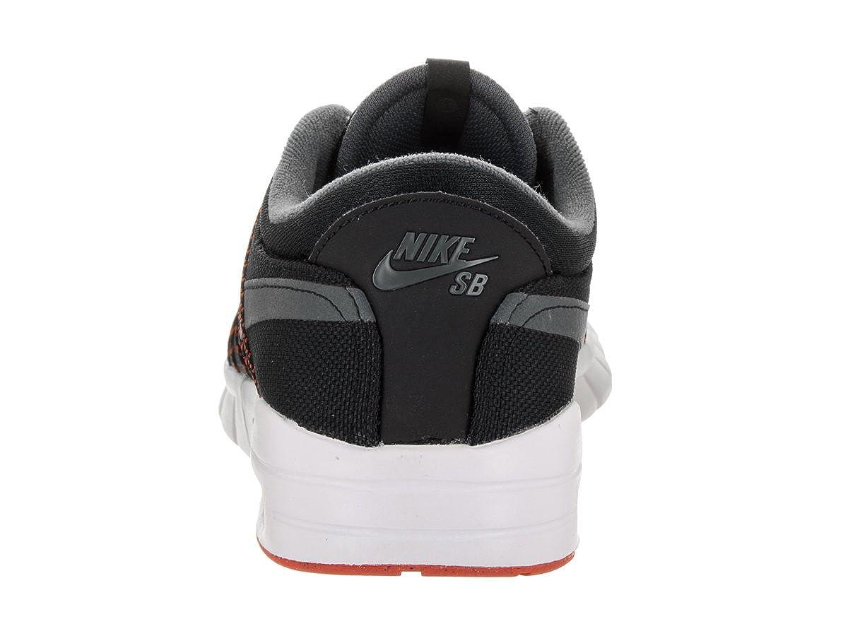 buy popular 9de0f bab93 Amazon.com | NIKE Men's SB Koston Max Black/Dark Grey White Skate Shoe 10  Men US | Skateboarding