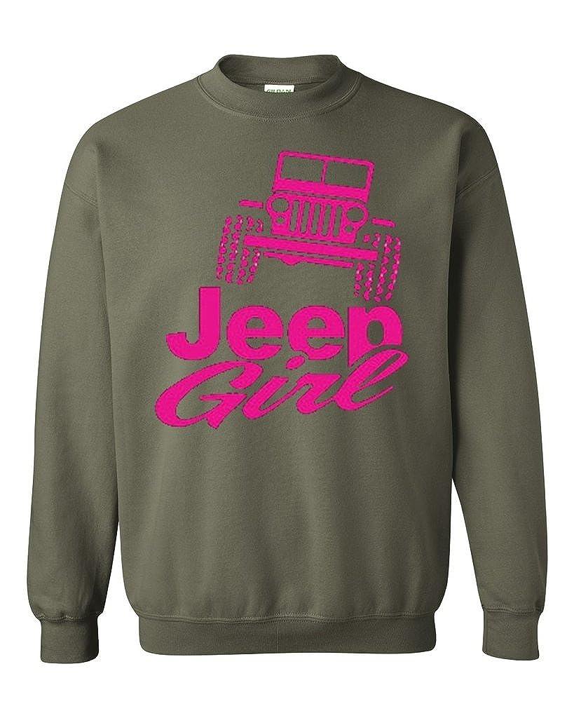 WWII Jeep Sweatshirt Hoodie SIZES S-3XL