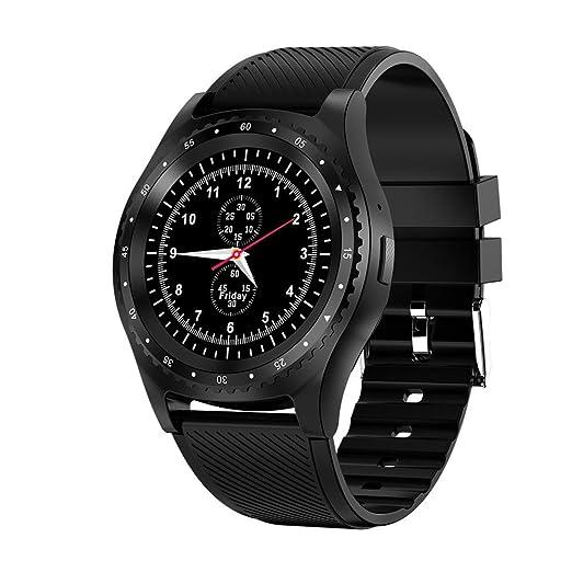 iBaste Montres Intelligente Bluetooth Montre Smart Watch Montre de Sport Montre Connectée Intelligent Support SIM/