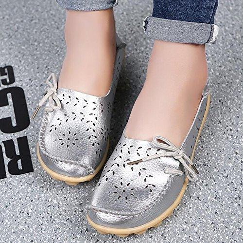 Antideslizante Suave Zapatos Zapatos SHANGXIAN Barco Mujeres Del Plano Casual C Fondo g78wqSxYFn