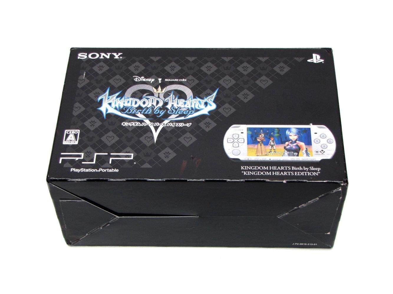 PSP「プレイステーションポータブル」 KINGDOM HEARTS Birth by Sleep『KINGDOM HEARTS EDITION』 (PSPJ-30012) 【メーカー生産終了】 B002XISAOU