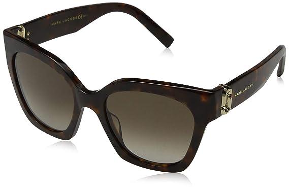4f3484a36f2 Marc Jacobs Marc 182 S HA 086 52 Montures de lunettes Marron (Dark Havana