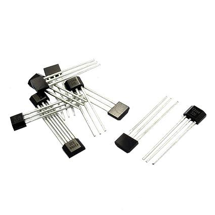 Sensor de efecto Hall - SODIAL(R)10pzs Y3144 Sensible Sensor de efecto Hall