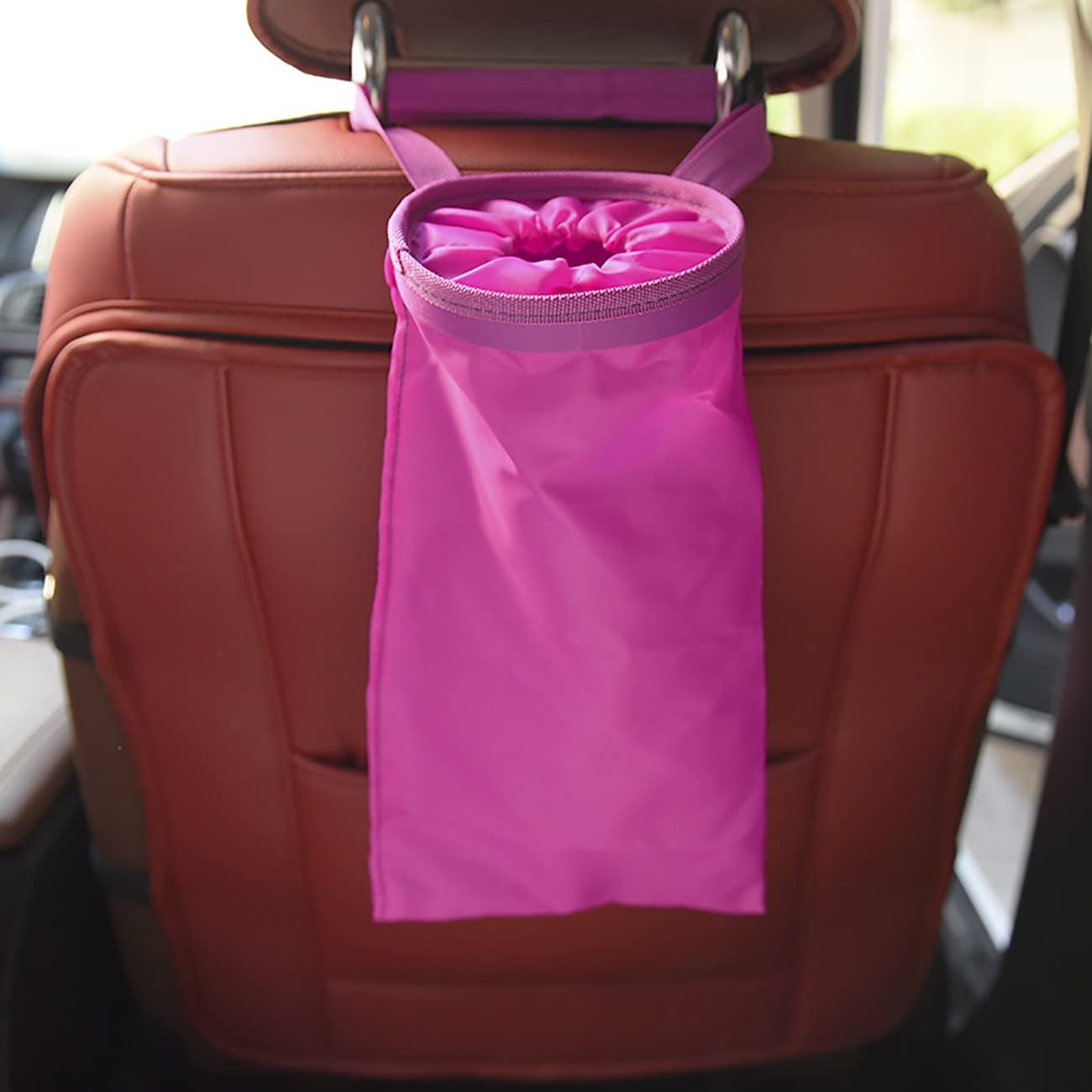 THEE Garbage Bag Hanging Trash for Vehicle Car Home Office Leakproof