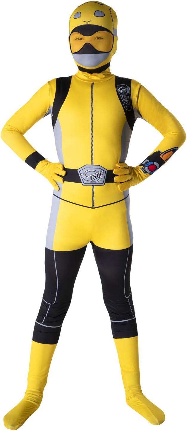 Morphsuits Traje de niños Oficial Amarillo Power Rangers Bestia ...