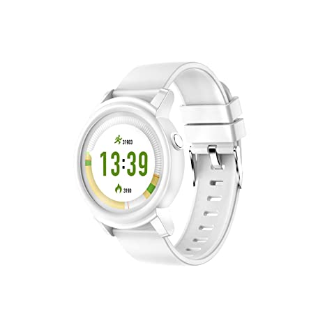 Amazon.com: Smart Watch Men Color Screen Heart Rate Monitor ...