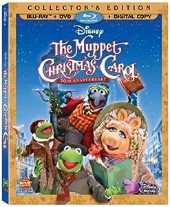 The Muppet Christmas Carol 20th Anniversary Edition Amazon Exclusive (Three-Disc BD/DVD Edition) [Blu-ray]