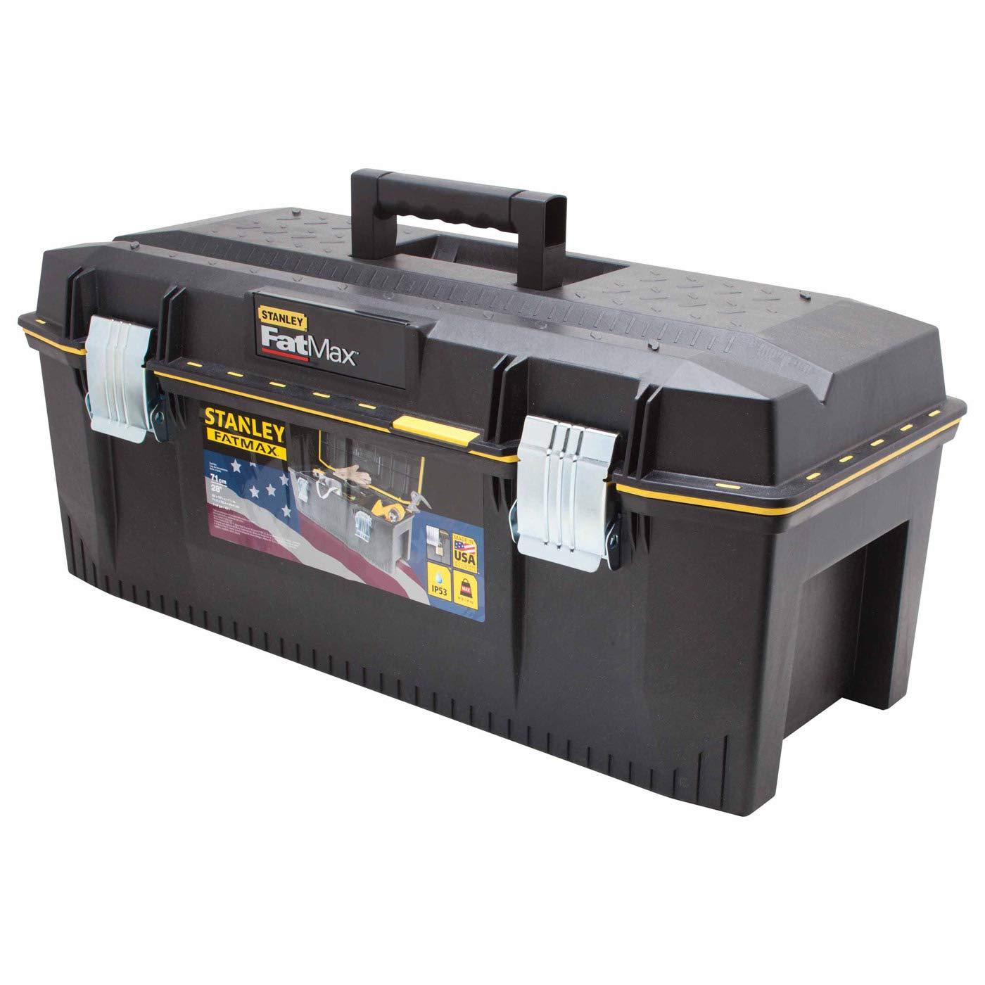 Stanley 028001L Fatmax - Caja de herramientas de espuma estructural (71 cm, 23 x 58 x 31 cm): Amazon.es: Amazon.es