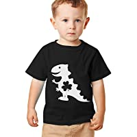 techcity Kids Unicorn Dinosaur Shirt St. Patrick's Day T-Shirt for Toddler Boys Girls Short Sleeve Tee Tops 2-11 Years