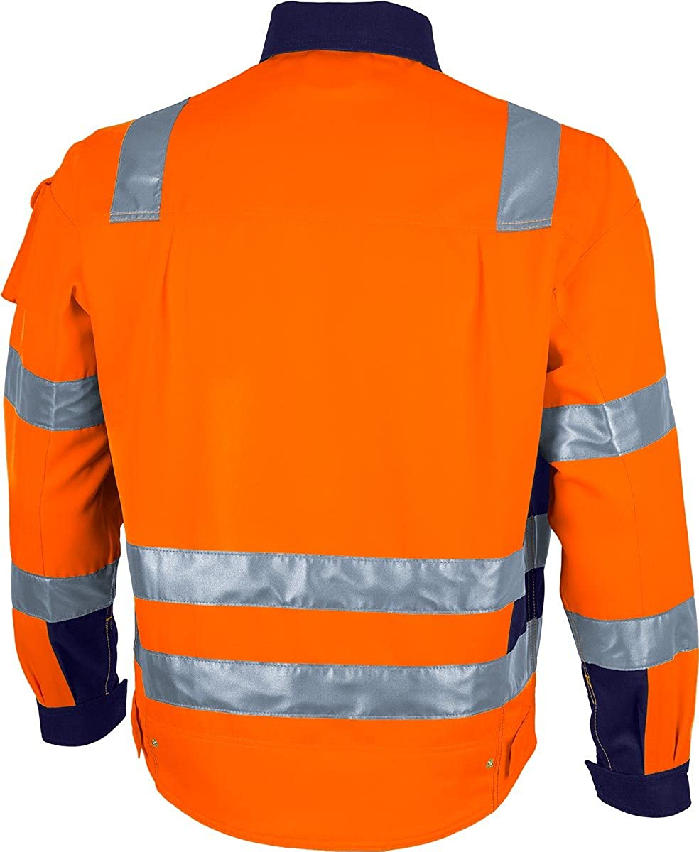 Qualitex Warnschutz Bundjacke Pro gelb orange