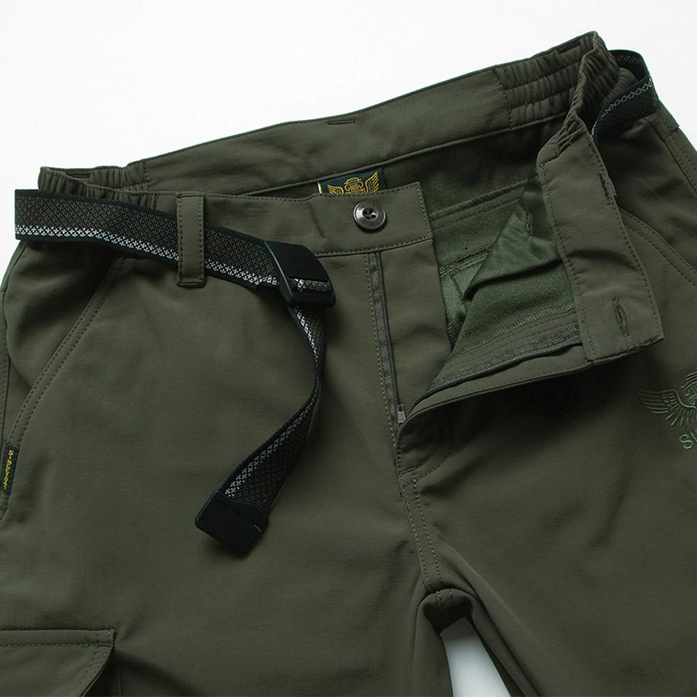 shijiazhuangxingxinjiaju Mens Outdoors Quick-Drying Water-Resistant Casual Breathable Pants Comfortable Trousers Cargo Pants