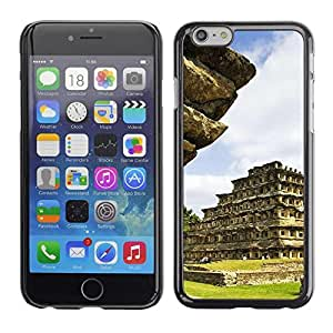 LECELL -- Funda protectora / Cubierta / Piel For Apple iPhone 6 Plus 5.5 -- Architecture Inca Maya Aztec Temple --
