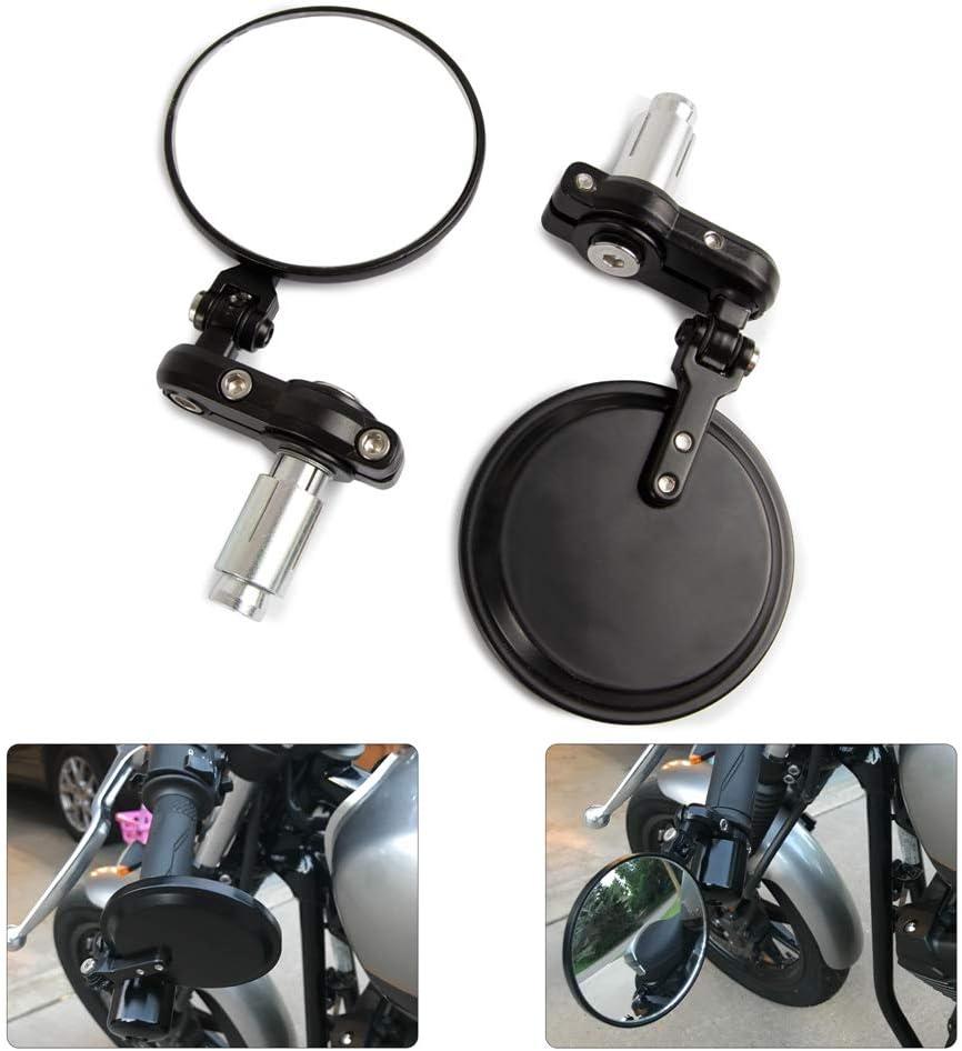 Motorcycle & ATV Model A Universal CNC Motorcycle Foldable 7/8 ...