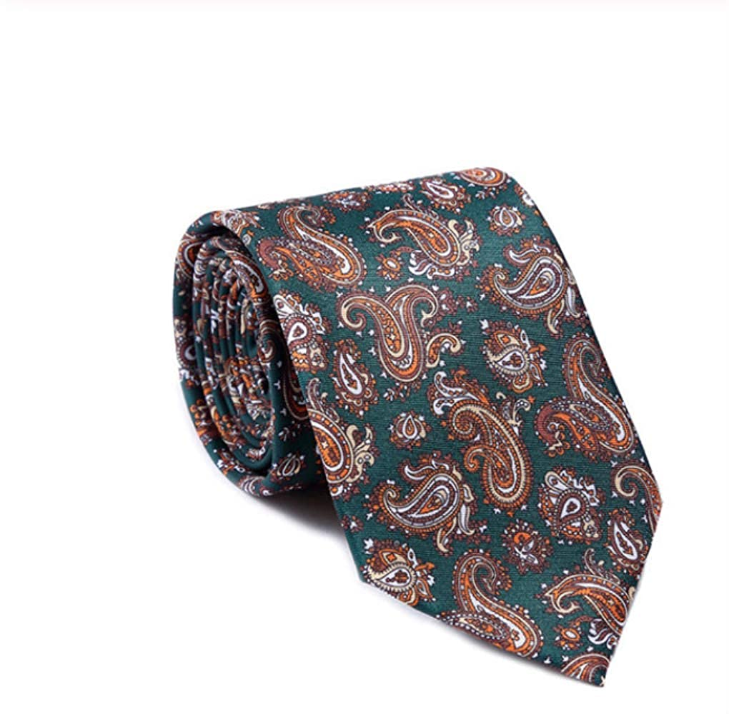 YiJiaMei Corbata de seda de los hombres de la moda de la corbata ...