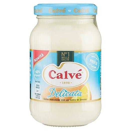 2 opinioni per Calvã©- Delicata, Salsa Maionese Con Un Tocco Di Limone- 225 Ml- [confezione da