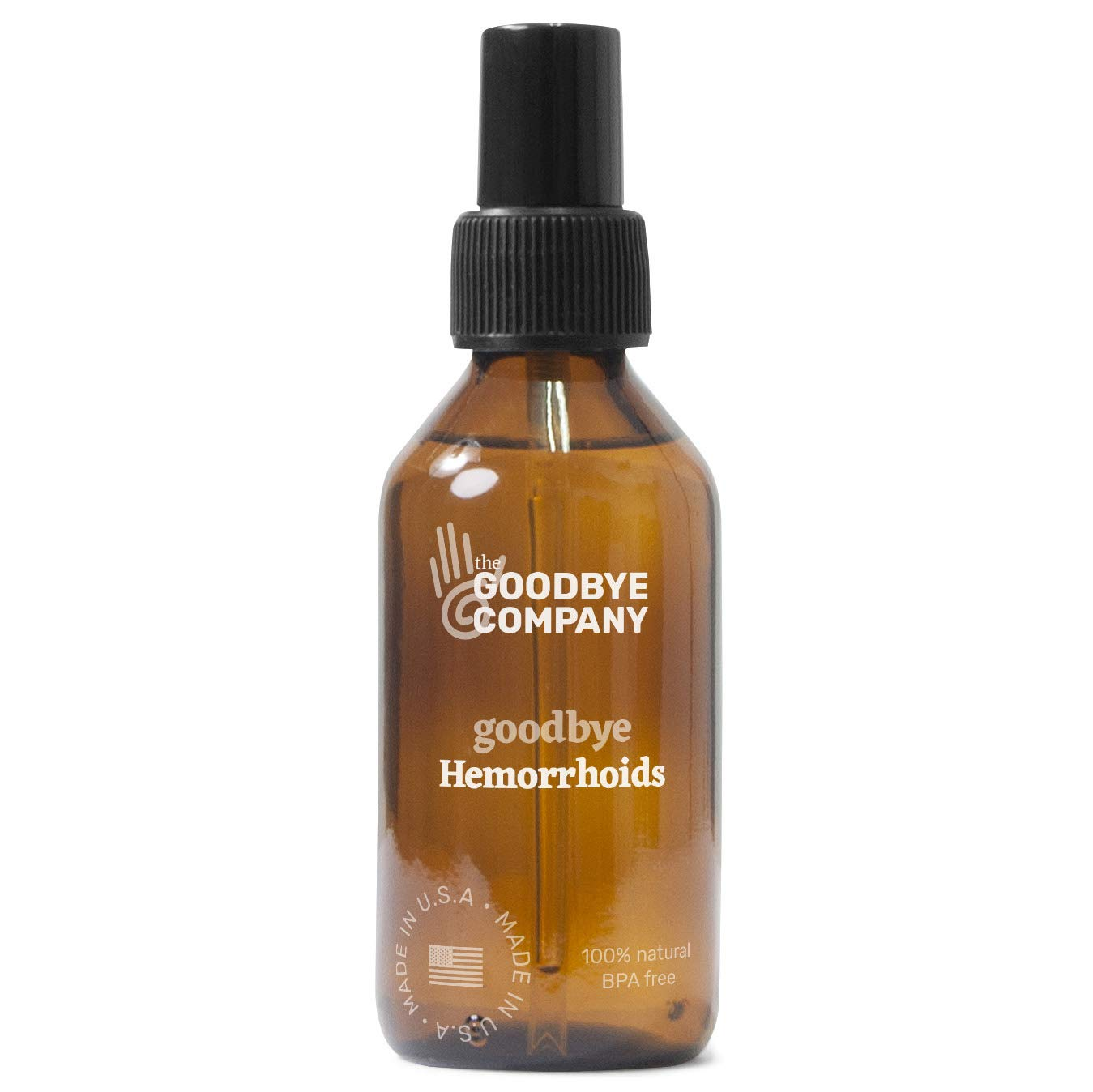 GoodBye Hemorrhoids Natural Vegan Hemorrhoid Healing Serum by GoodBye Styes