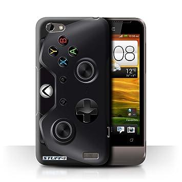 Carcasa/Funda STUFF4 dura para el HTC One V / serie: Consola de juegos - Xbox One