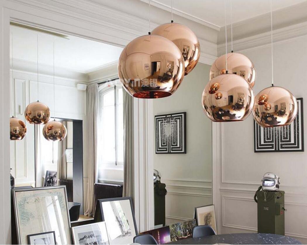 Moderne DIY Decke lampe glas kugel Anhänger Beleuchtung Lampe Home ...
