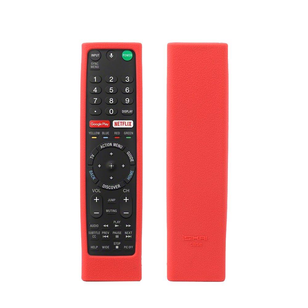 SIKAI 2-Pack Fernbedienung Schutzh/ülle Compatible with Sony RMT-TX100D RMT-TX101D RMF-TX200C Anti-Drop Shockproof Sto/ßfeste Silikon Schutzh/ülle Case Cover Schwarz