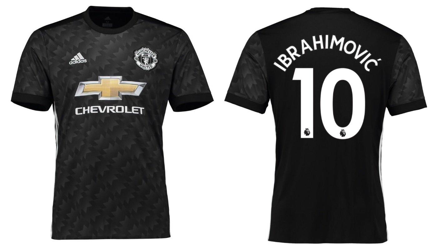 Trikot Kinder Manchester United 2017-2018 Away - Ibrahimovic 10