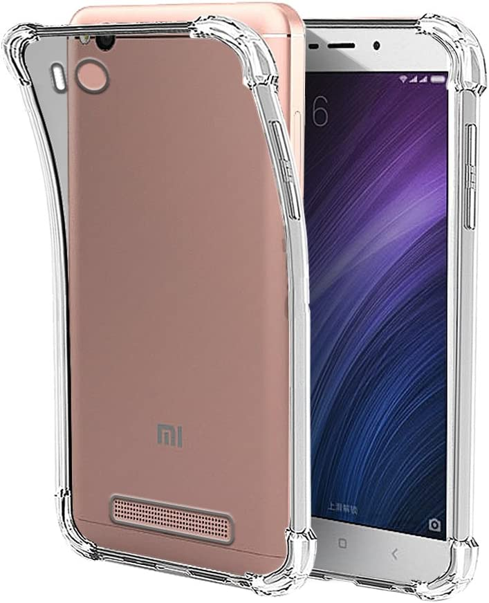 Funda Anti-Shock Gel Transparente para XIAOMI REDMI 4A, Ultra Fina ...