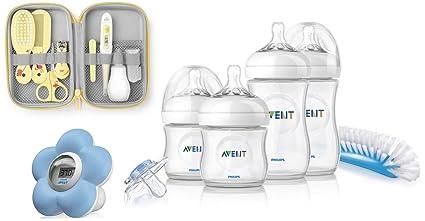 Philips AVENT Baby – Juego de 3 piezas Avent naturnah recién nacidos de Juego + Avent