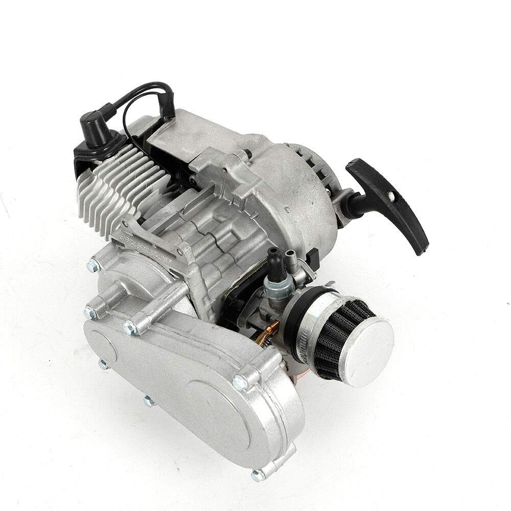 Motor de arranque de 2 tiempos de 49 cc + caja de cambios para ...