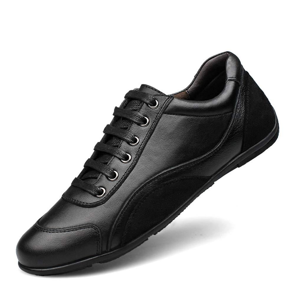 Noir Mamrar Baskets Mode Hommes Confortable Doux en Plein Air Courir Casual Chaussures Antidérapant Fond Plat avec Tête Ronde Végétarienne Taille UE 36-48 42 EU
