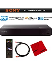 Sony BDP-S6700 4K Upscaling 3D Streaming Blu-ray Disc Player with Dolby TrueHD and DTS Master Audio Bundle with Deco Gear 6 ft High Speed HDMI 2.0 Cable and Microfiber TV Screen Cloth photo