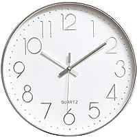 Tebery Reloj de pared de 30 cm sin